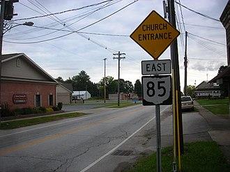 Andover, Ohio - East Main Street