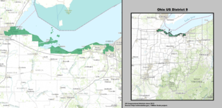 Ohios 9th congressional district U.S. House district for Ohio