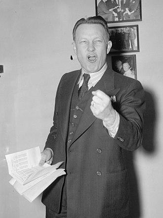 Joshua B. Lee - Image: Oklahoma senator. Washington, D.C., Dec. 13. United States Senator Josh Lee, Democrat of Oklahoma. He is considered one of the best orators in the Senate. 12 13 37 LCCN2016872732 (cropped)