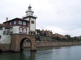 Getxo - Arriluce lighthouse, Neguri.