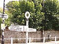 Old-fashioned direction sign in East Meon - geograph.org.uk - 769954.jpg