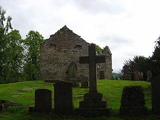 Old Blair village in United Kingdom