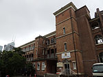 Old British Military Hospital, Main Block west 2012.JPG