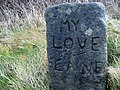 Old Sign for My Love Lane - geograph.org.uk - 307786.jpg