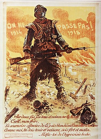 They shall not pass - Image: On Ne Passe Pas 1918