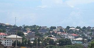 Onitsha City in Anambra State, Nigeria