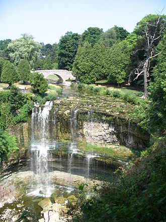 Geography of Hamilton, Ontario - Webster's Falls