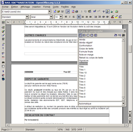Writer traitement de texte wikip dia - Comment convertir un fichier pdf en open office ...