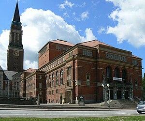 Theater Kiel - Opernhaus Kiel, the opera house of Kiel, built in 1907, pictured in 2007