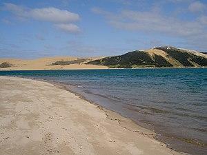 Opononi - Opononi beach