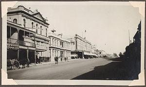 Orange, New South Wales - Summer Street in 1929