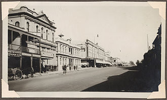 Orange, New South Wales - Summer Street in 1929