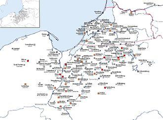 Ordensburg - Image: Ordensburgen Ausschnitt
