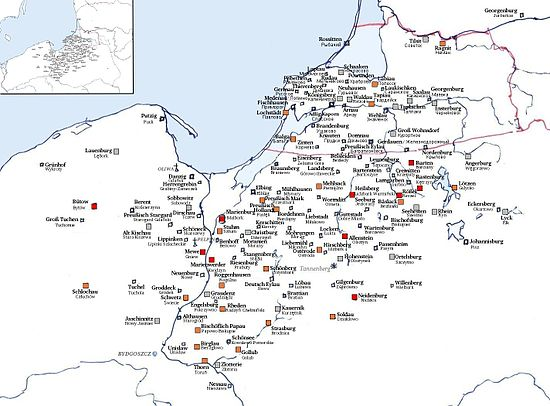 Liste Der Burgen Im Deutschordensstaat Wikipedia