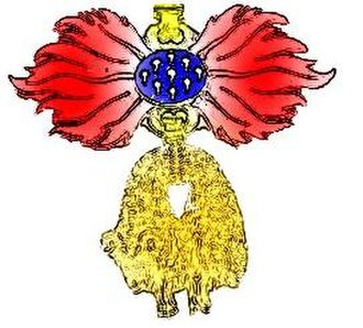 Orders, decorations, and medals of Spain - Image: Order of the golden fleece scheme (without Keys)