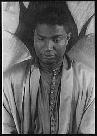 Ossie Davis - photo by Carl Van Vechten, 1951