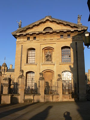 Clarendon Building - West elevation of Clarendon Building
