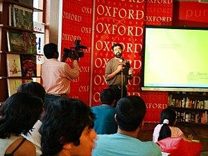 Oxford Bookstore - A book event at Oxford bookstore