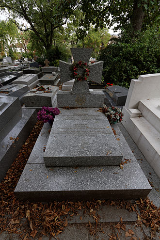 Mykhailo Omelianovych-Pavlenko - Grave in Père Lachaise Cemetery.