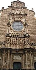 Pòrtic de l'abadia de Montserrat, Montserrat, Catalunya.jpg