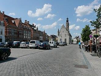 Herentals - Image: P1020635 copy Grote Markt Herentals