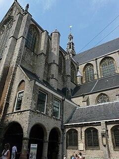 Grote or Sint-Laurenskerk (Alkmaar) church in Alkmaar