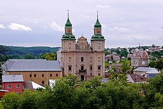 Zbarazh City in Ternopil Oblast, Ukraine