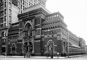 La Pennsylvania Academy of the Fine Arts en 1900.