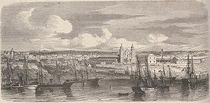 Sacking of Asunción - Image: PARAGUAY. — La ville de l'Assomption occupée par l'armée alliée