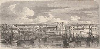 Sacking of Asunción - The city of Asunción occupied by the allied army (Le Monde Illustré: journal hebdomadaire, nº 625, 03/04/1869).