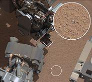 PIA16225-MarsCuriosityRover-ScooperTest&MysteryObject-20121008a