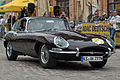 PKW der Marke Jaguar E-Type, in Stralsund (2012-06-28), by Klugschnacker in Wikipedia.JPG