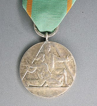 Medal for Sacrifice and Courage - Image: POL Medal for Sacrifice and Courage 02