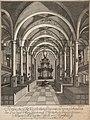 PPN751414379 Perspectivische Vorstellung, des inwendigen Gebäudes, der 1750 den 10. Martz durch einen Wetterstrahl, (1750).jpg