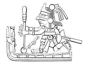 Acolmiztli (Coatl Ichan) - Image: PSM V10 D029 Ancient mexican fire drill