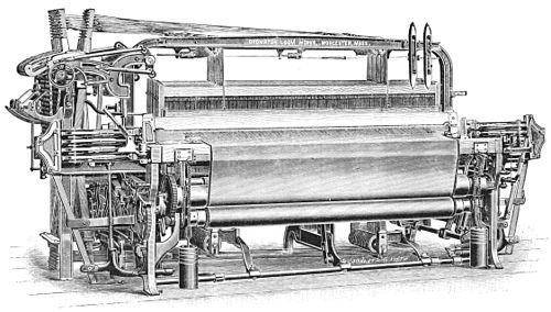 PSM V39 D327 Crompton thirty six harness worsted loom.jpg
