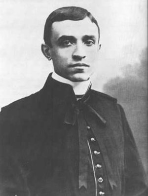 Pope Pius XII - Pacelli on the day of his ordination: 2 April 1899