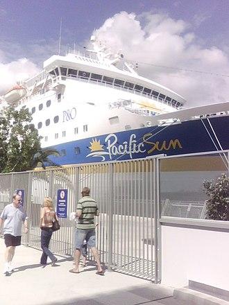 Portside Wharf - Image: Pacific Sun portside