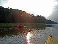 Paddling at Sunset (6022133787).jpg