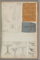 Page from a Scrapbook containing Drawings and Several Prints of Architecture, Interiors, Furniture and Other Objects MET DP372146.jpg