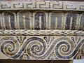 Painted detail on moulding, Museum at Olympia, Greece.jpg