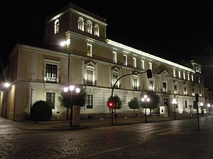 Royal Palace of Valladolid - The Royal Palace at night