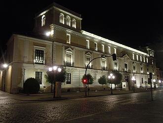 Royal Palace of Valladolid - The Royal Palace at night