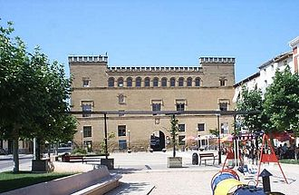 Ayerbe - The 16th-century Palacio of the Marquesses de Ayerbe is now a private building, used as a music school