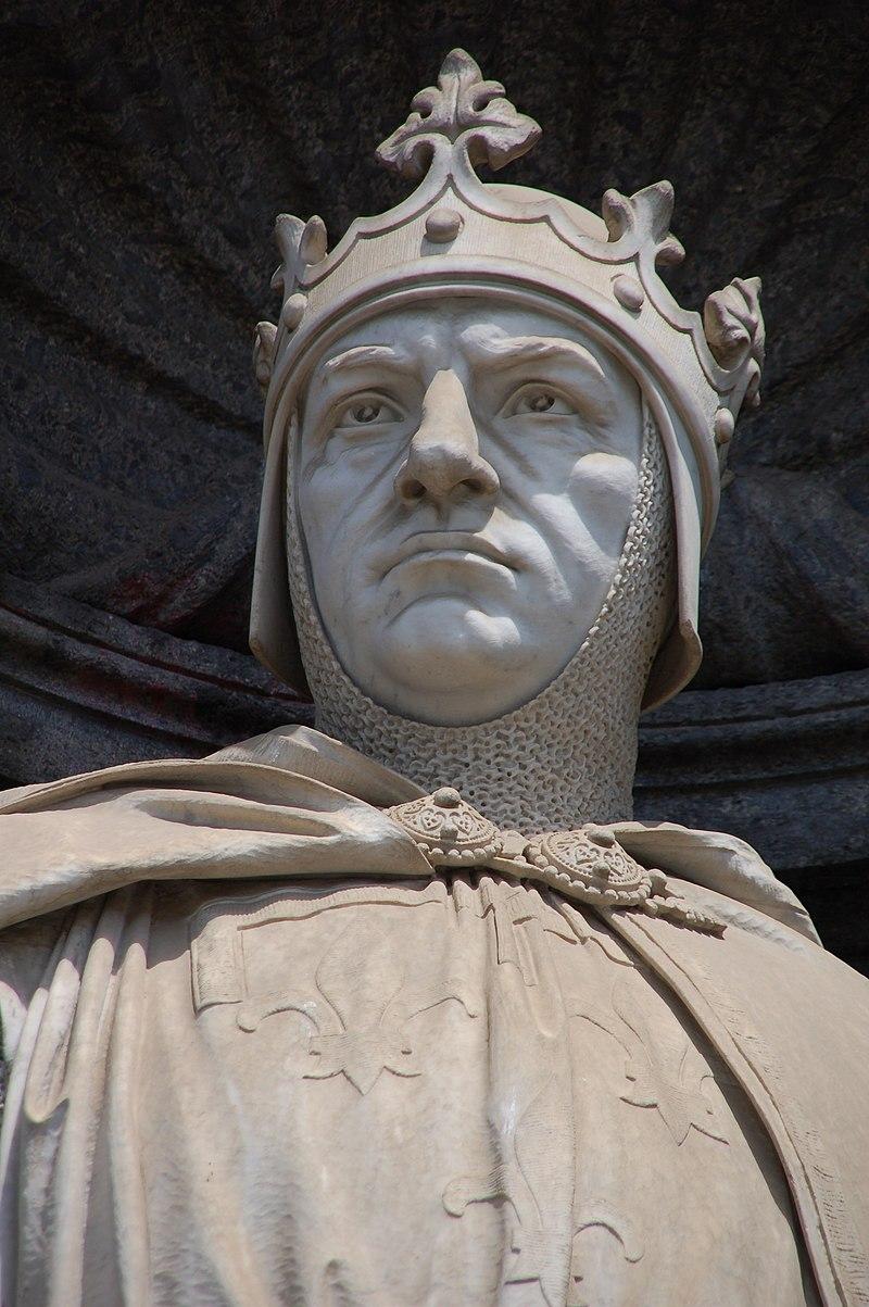 Palazzo Reale di Napoli - Carlo I d%27Angi%C3%B2.jpg