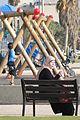 Palestinian Woman on Park Bench in Playground - Tel Aviv Promenade - Israel (5713554507).jpg