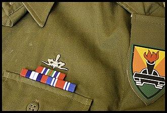 Israeli military decorations - Image: Palsar 7