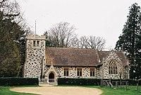 Pamphill, parish church of St. Stephen - geograph.org.uk - 474191.jpg