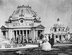 George Cary (architect) - Image: Pan American Exposition Ethnology and Government Buildings
