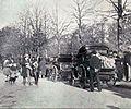 Panhard & Levassor 5 (Levassor) et 6 (Mayade), Paris-Marseille-Paris 1896 (avant le départ, avenue de la Grande Armée).jpg